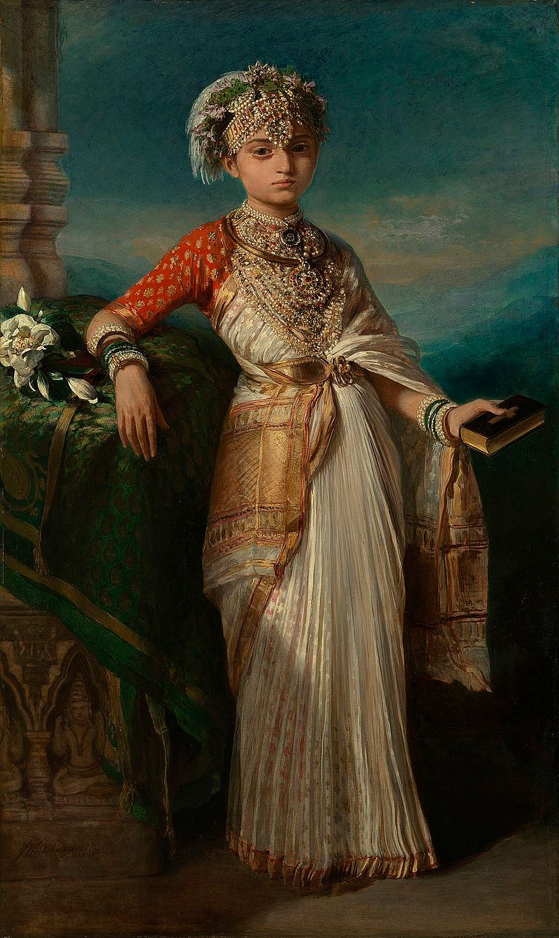 Princess Gouramma of Coorg, whose godmother was Queen Victoria.