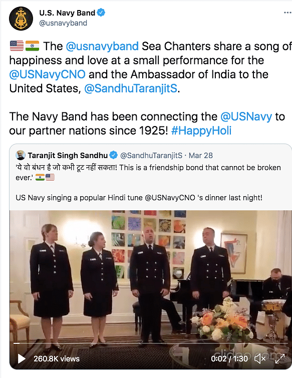 US Navy Members Sing 'Yeh Jo Des Hai' From Swades, Win Hearts