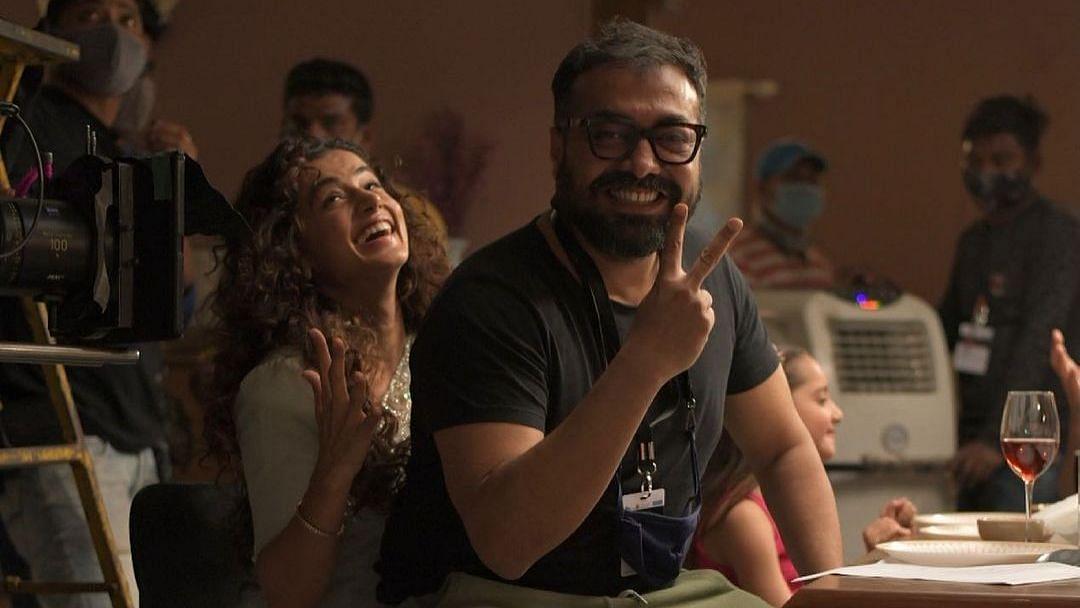 <p>Anurag, Taapsee resume shooting for Do Baaraa.</p>