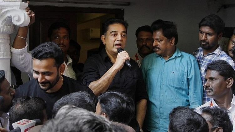 Kamal Haasan Ready to Lead 3rd Front in TN, in Talks With Parties