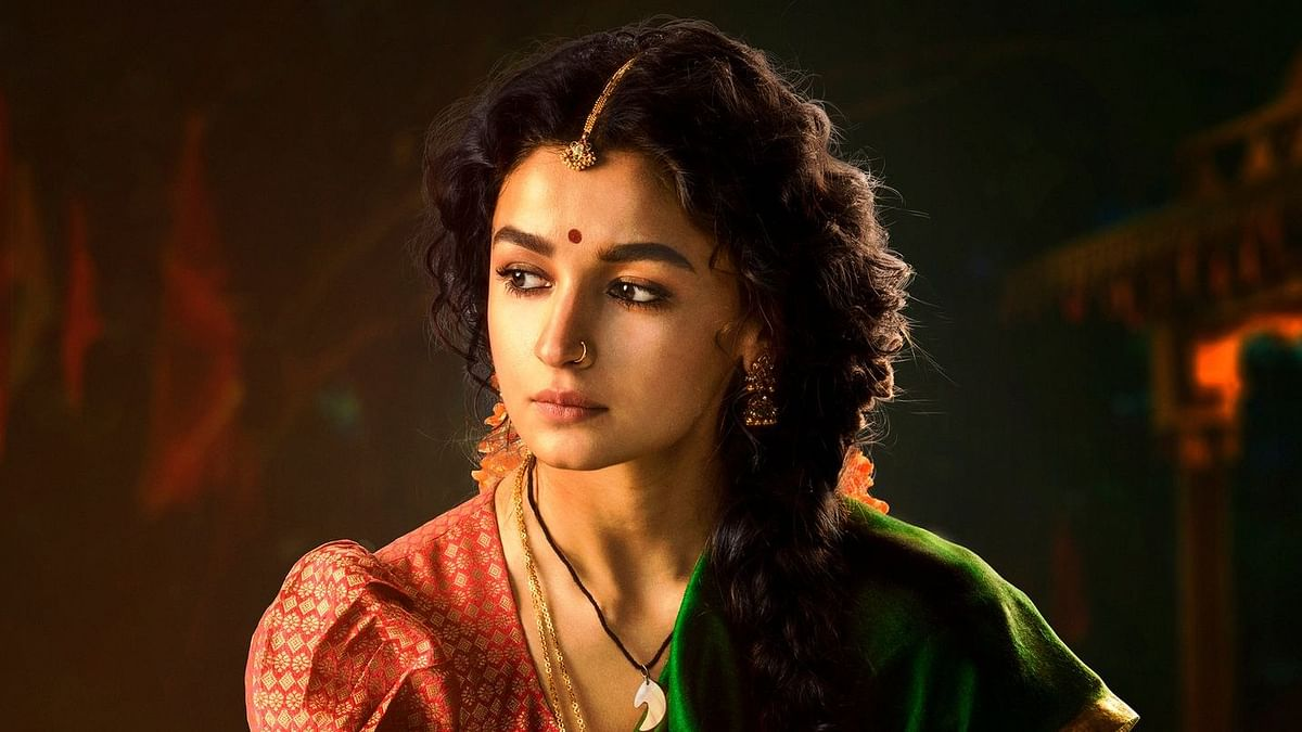 <p>Alia Bhatt as Sita in RRR.</p>