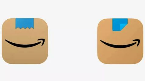 Amazon revamps its logo after a part of its logo was compared to Adolf Hitler's moustache.