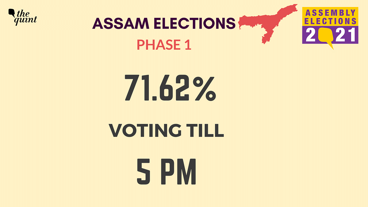 Assam Assembly Elections: Voting in Phase 1 Comes to an End