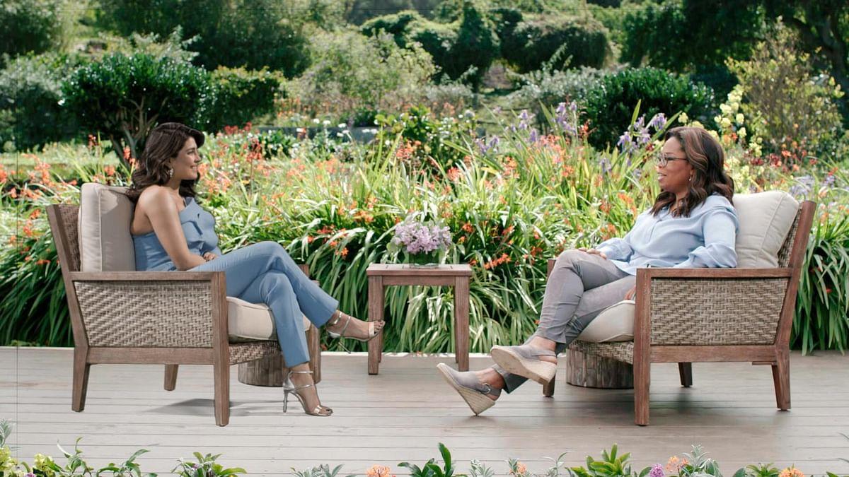 Priyanka Chopra on Oprah Winfrey's <i>SuperSoul.</i>