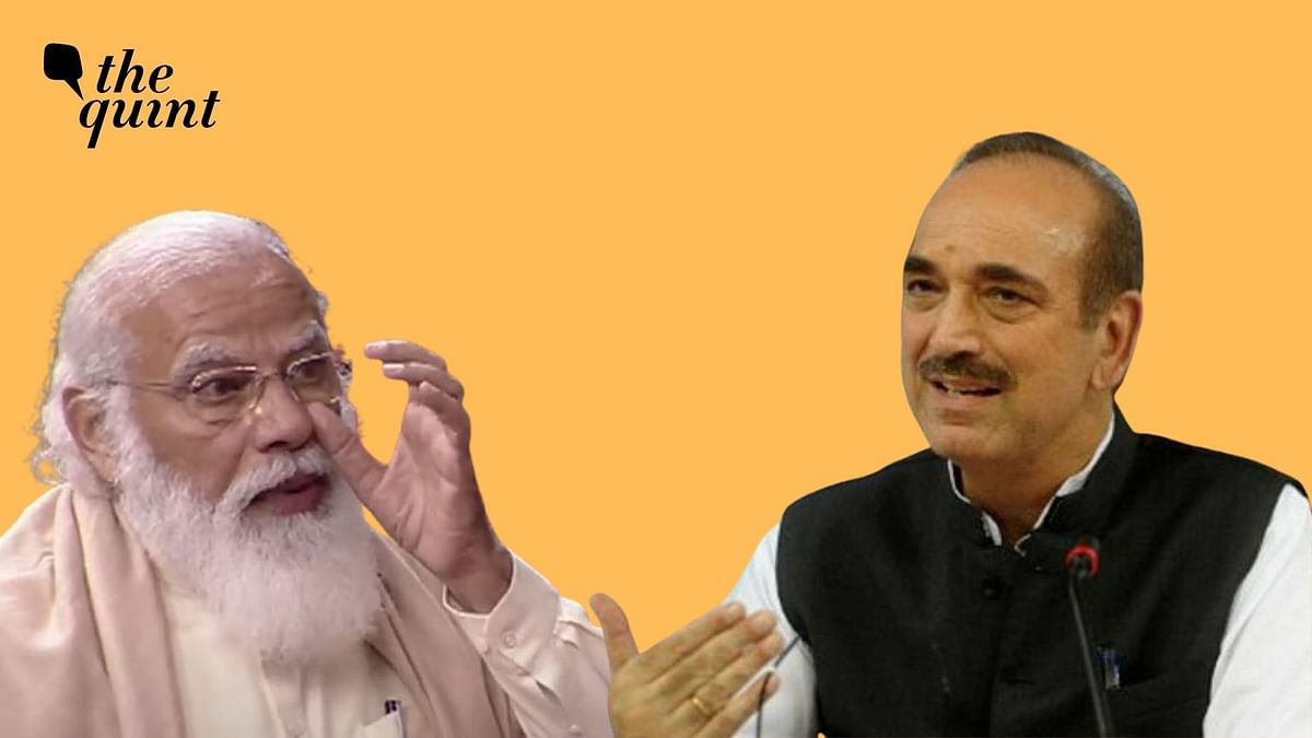 'PM Doesn't Hide His True Self': Ghulam Nabi Azad Lauds Modi Again
