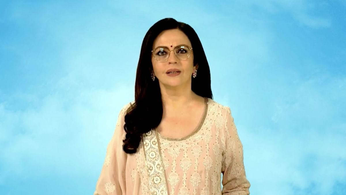 Nita Ambani addressed RIL AGM for the first time on Wednesday, 15 July.