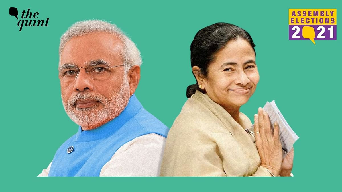 Prime Minister Narendra Modi and West Bengal CM Mamata Banerjee have been at loggerheads since the upcoming assembly elections in the state.