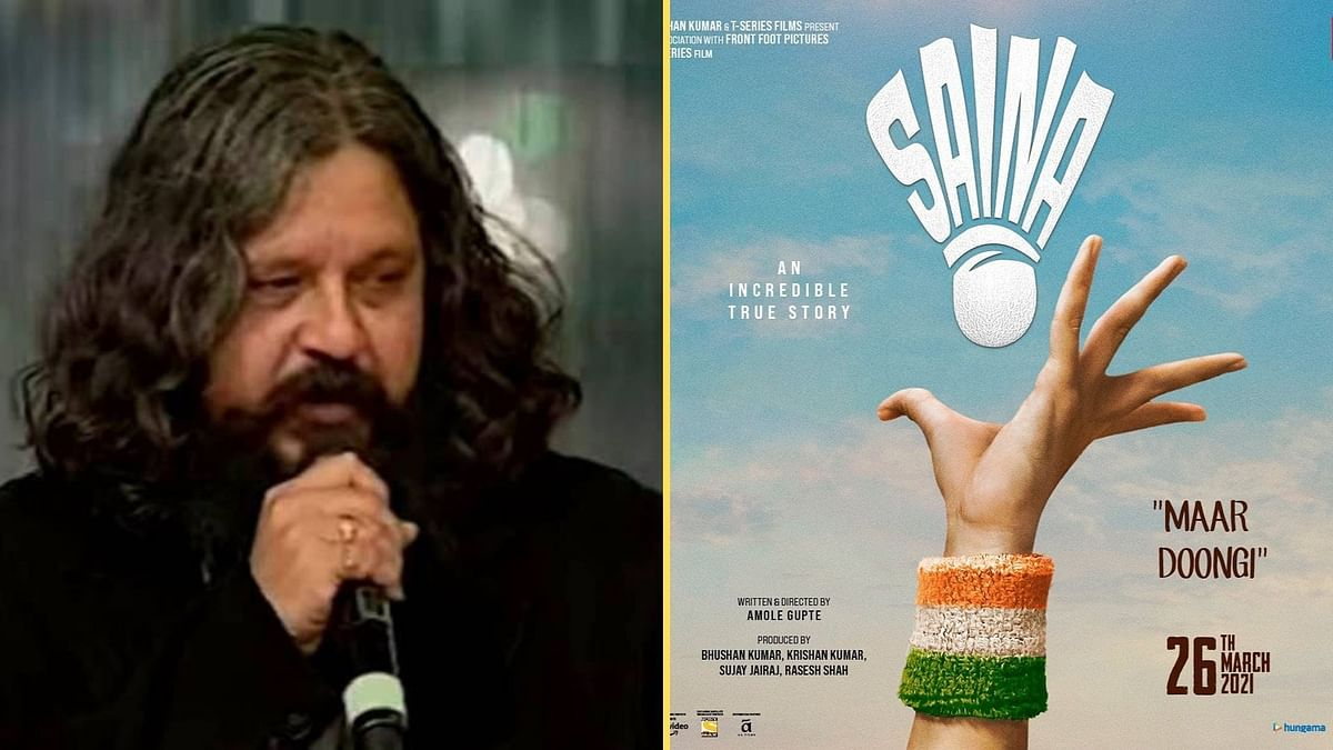 Amol Gupte Explains the 'Saina' Poster to an 'Impatient World'