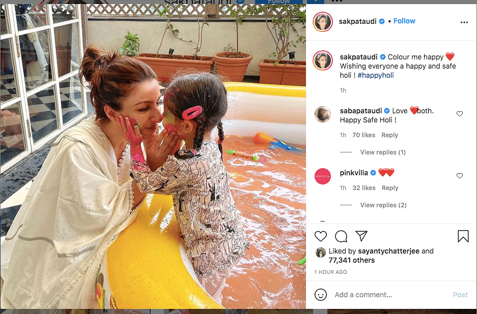 How Kareena, Akshay, Soha & Other Celebs Are Celebrating Holi