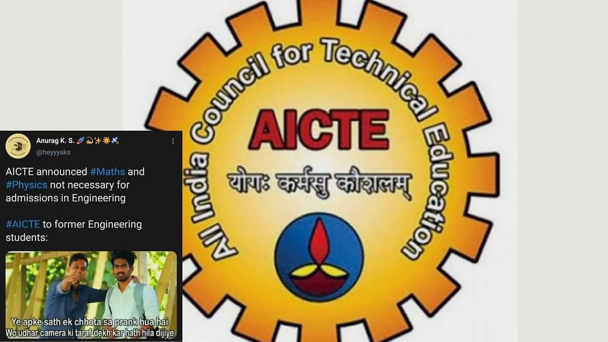 Netizens on Aicte's Changed Eligibility Criteria for Engineering