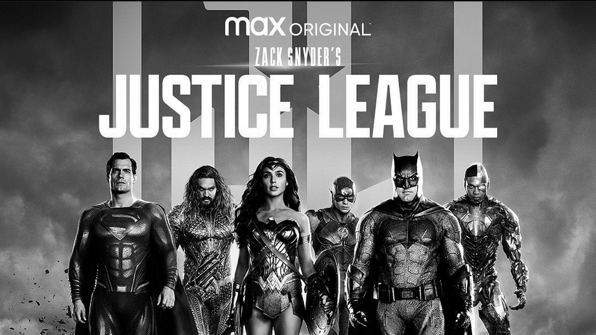 The poster for Justice League Snyder Cut
