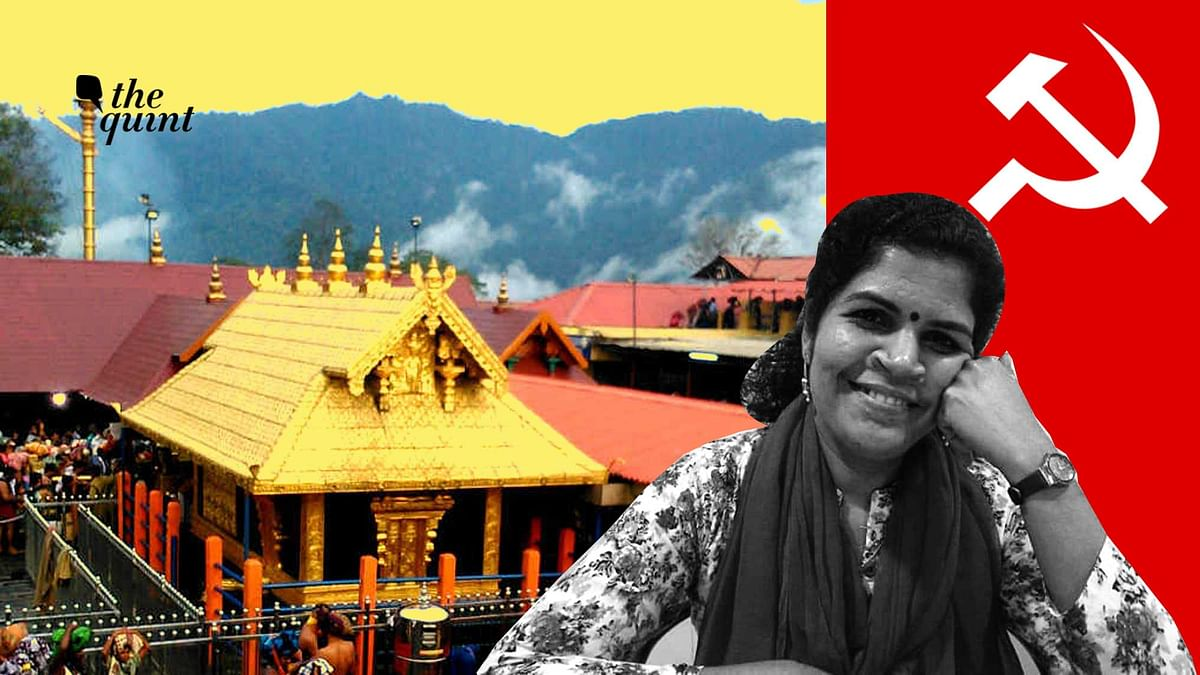 Kanaka Durga, a  member of CITU is miffed with the party leadership's attempt to walk back on women's entry into Sabarimala.