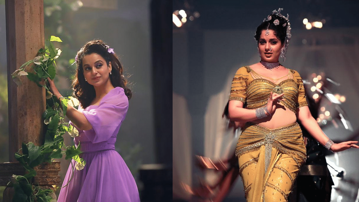 Kangana Releases Pics From 'Thalaivi', Shows Body Transformation