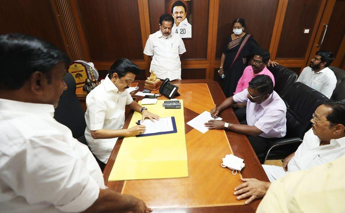 TN Polls: VCK Signs Memorandum With DMK, Will Contest in 6 Seats