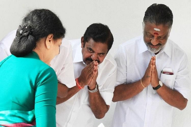 Edapaddi Palanswami and former Chief Minister O Panneerselvam were once Sasikala loyalists.