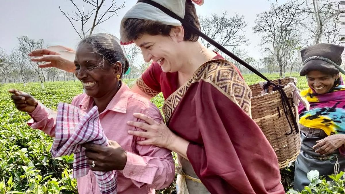 Not Promises But Guarantees: Priyanka Gandhi Begins Assam Campaign