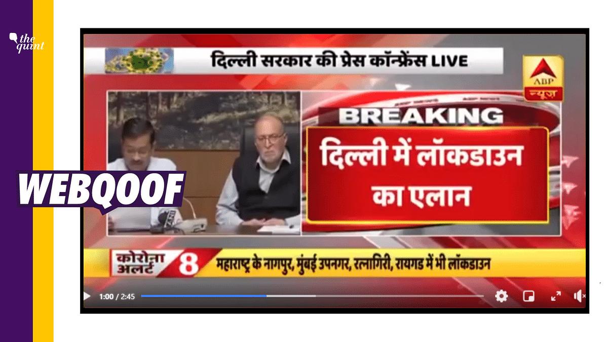 Delhi CM Imposed Lockdown Till 31 March? No, It's a 2020 Bulletin