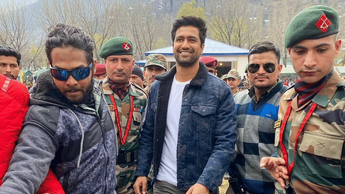 Vicky Kaushal Thanks Indian Army After Visit to Uri Base Camp