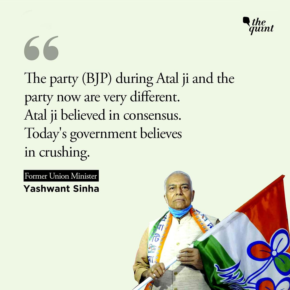 'Nandigram Was Tipping Point': Ex-BJP Min Yashwant Sinha Joins TMC