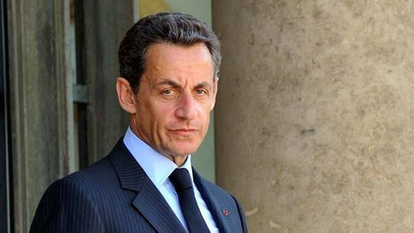 Former France President Nicolas Sarkozy.