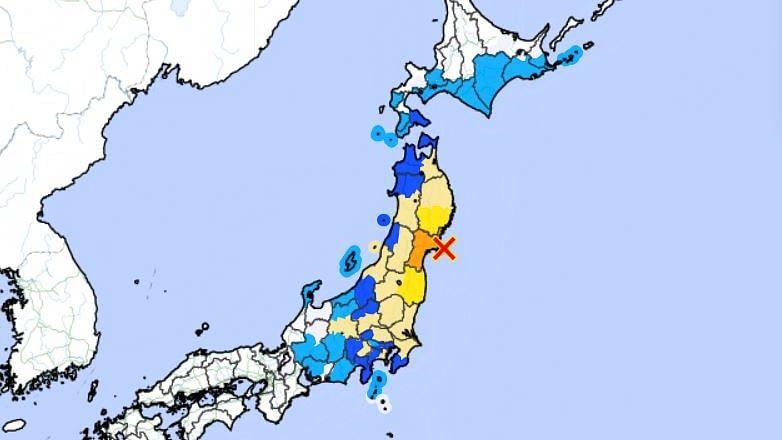 7.2 Japan Earthquake Shakes Tokyo Houses; Tsunami Warning Issued