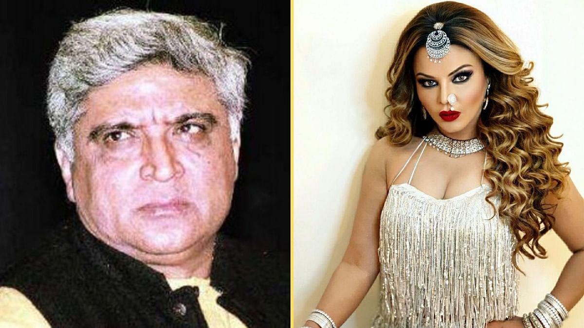 <p>Javed Akhtar to Write Script Based on Rakhi Sawant's Life?</p>