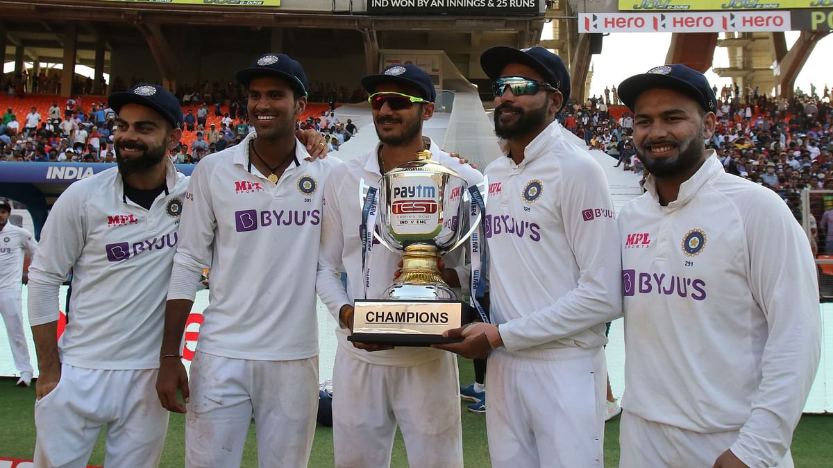 India registered their 13th consecutive Test series win at home when they beat England in the fourth Test.