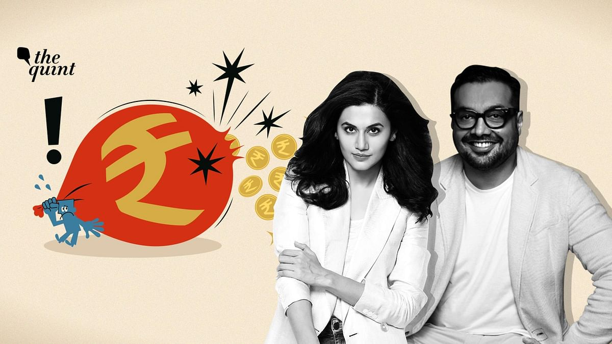 Image of Taapsee Pannu and Anurag Kashyap used for representational purposes.