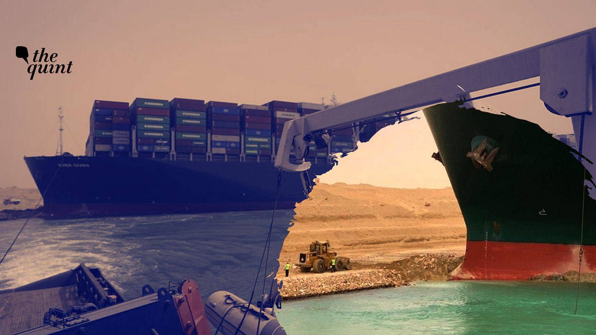 How Did a 400m-Long Megaship Get Stuck in the Narrow Suez Canal?