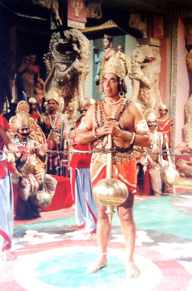 Dara Singh as Hanuman