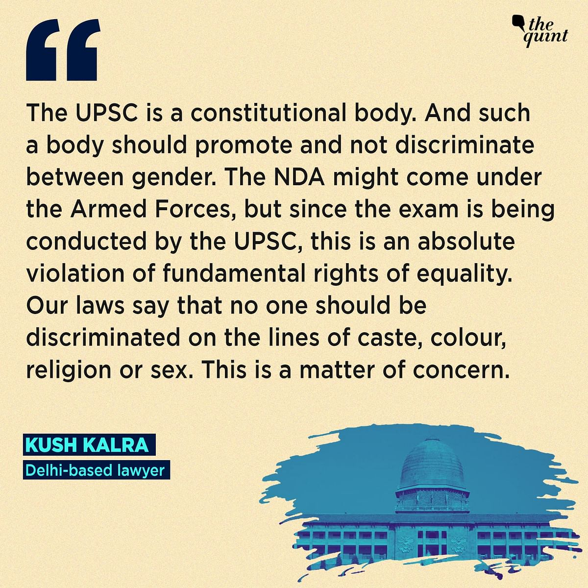 Women Not Allowed to Join NDA – What Difference Does It Make?