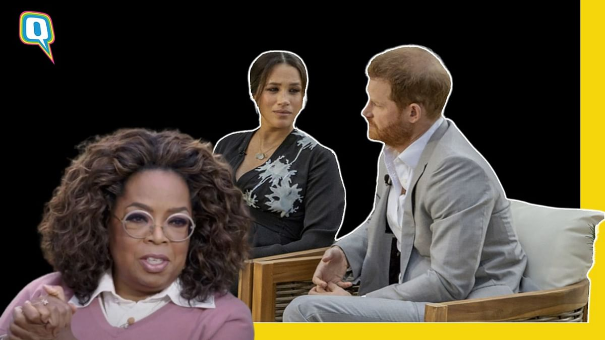 <p>Here's what Prince Harry and Meghan Markle told Oprah Winfrey.</p>