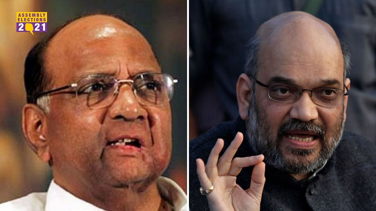 'Everything Can't be Made Public': Shah on Meet With Sharad Pawar