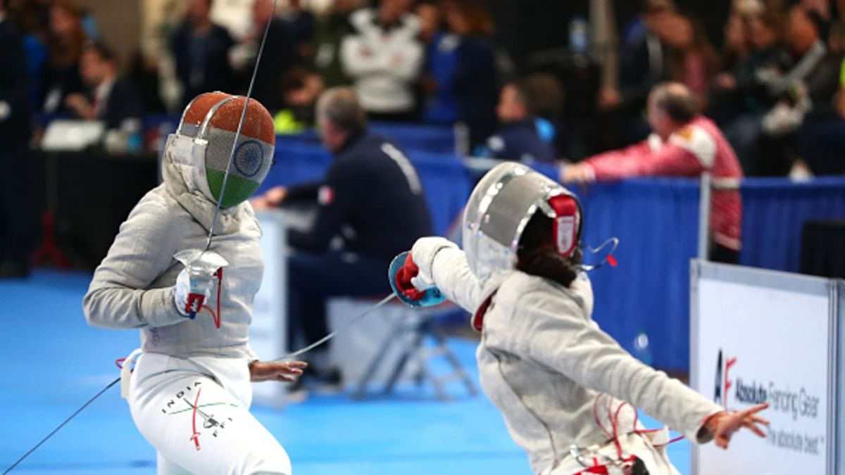 Bhavani Devi is India's first entrant in the Fencing event at the Olympics.