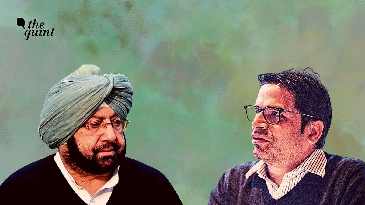 Amarinder Singh Meets with Political Strategist Prashant Kishor: Report