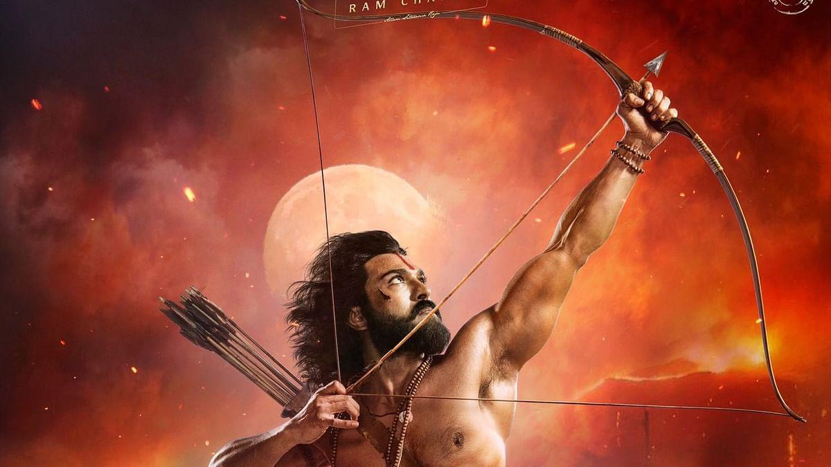 RRR: First Look of Ram Charan as Alluri Sita Ramaraju Unveiled