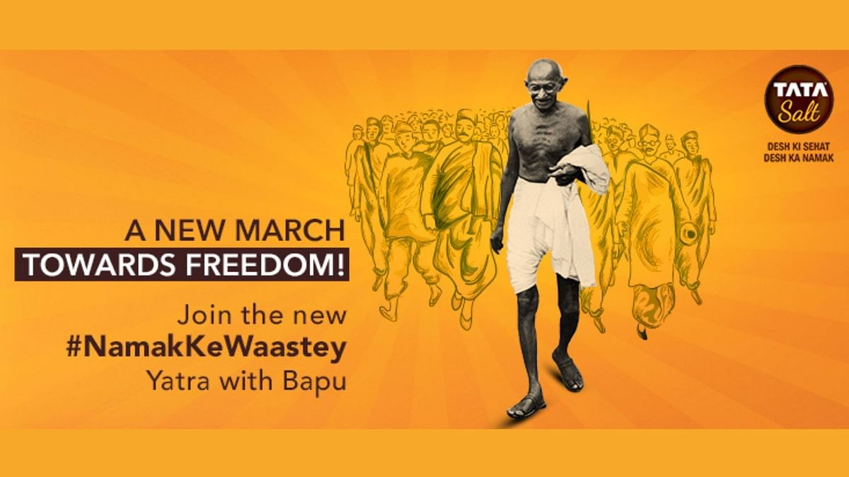 Tata Salt is urging Indians to invoke Gandhiji's lessons once again and come together to fight COVID-19