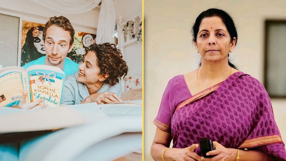 Nirmala Sitharaman, Taapsee's Boyfriend React to IT Raids