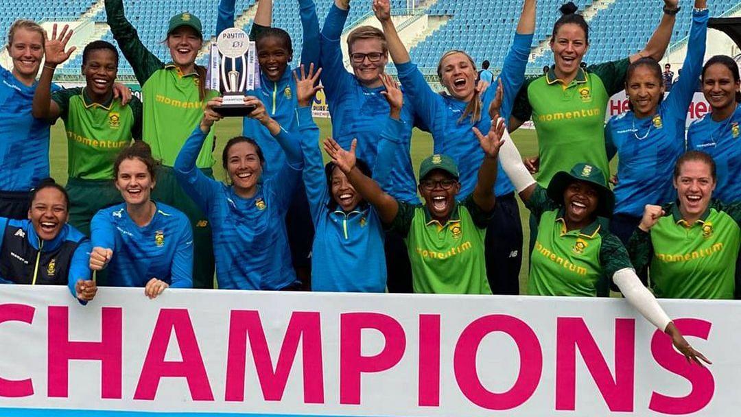 SA Women Win 5th ODI Comprehensively; Clinch ODIs 4-1 vs India