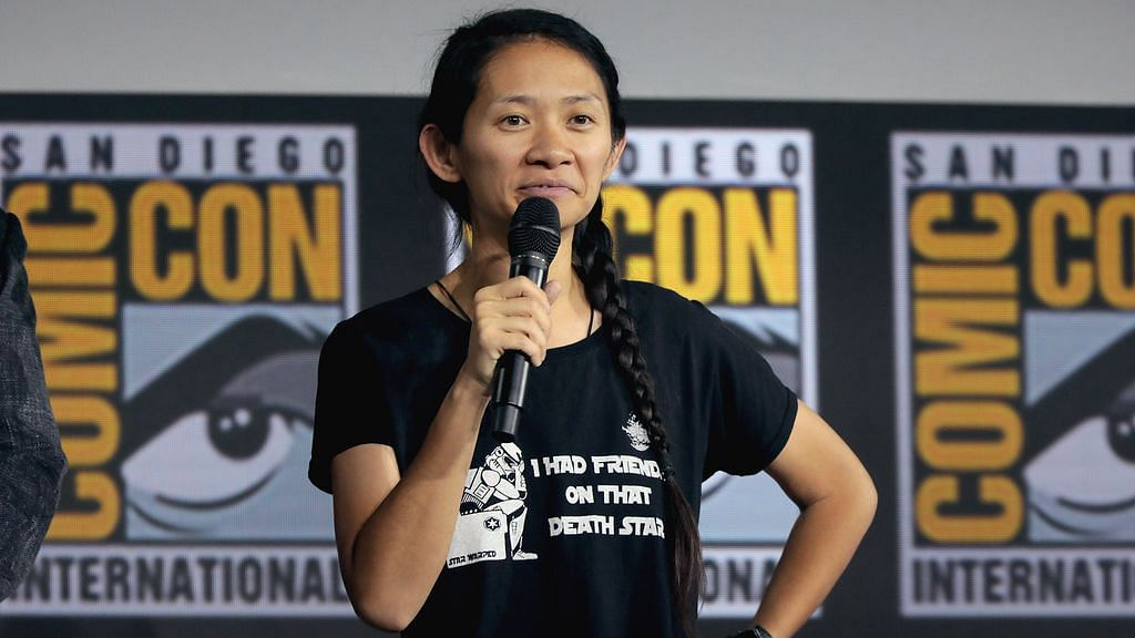 Chloe Zhao won the honor for her film – Nomadland – which also won the Best Motion Picture (Drama) at the awards.