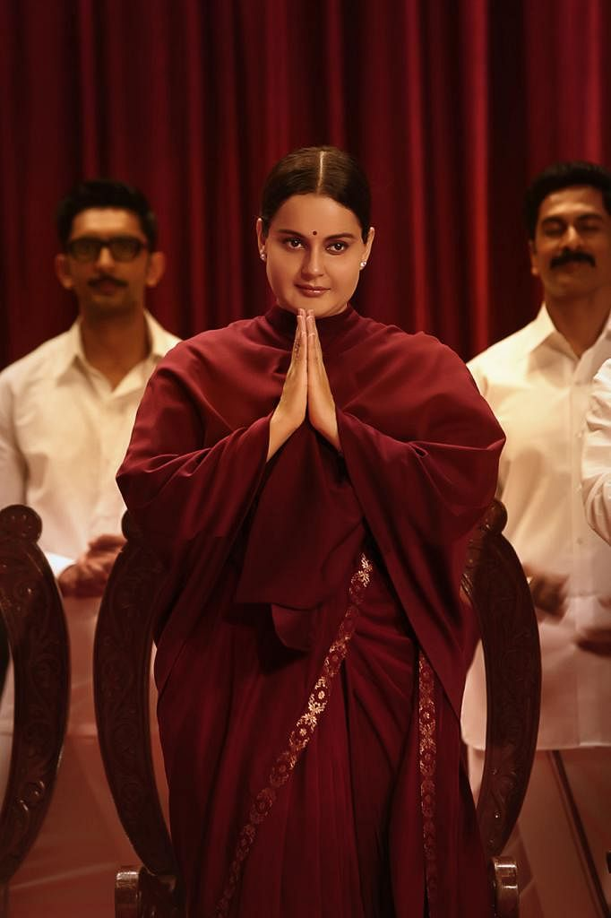 "<div class=""paragraphs""><p>Kangana Ranaut as politician Jayalalithaa.</p></div>"