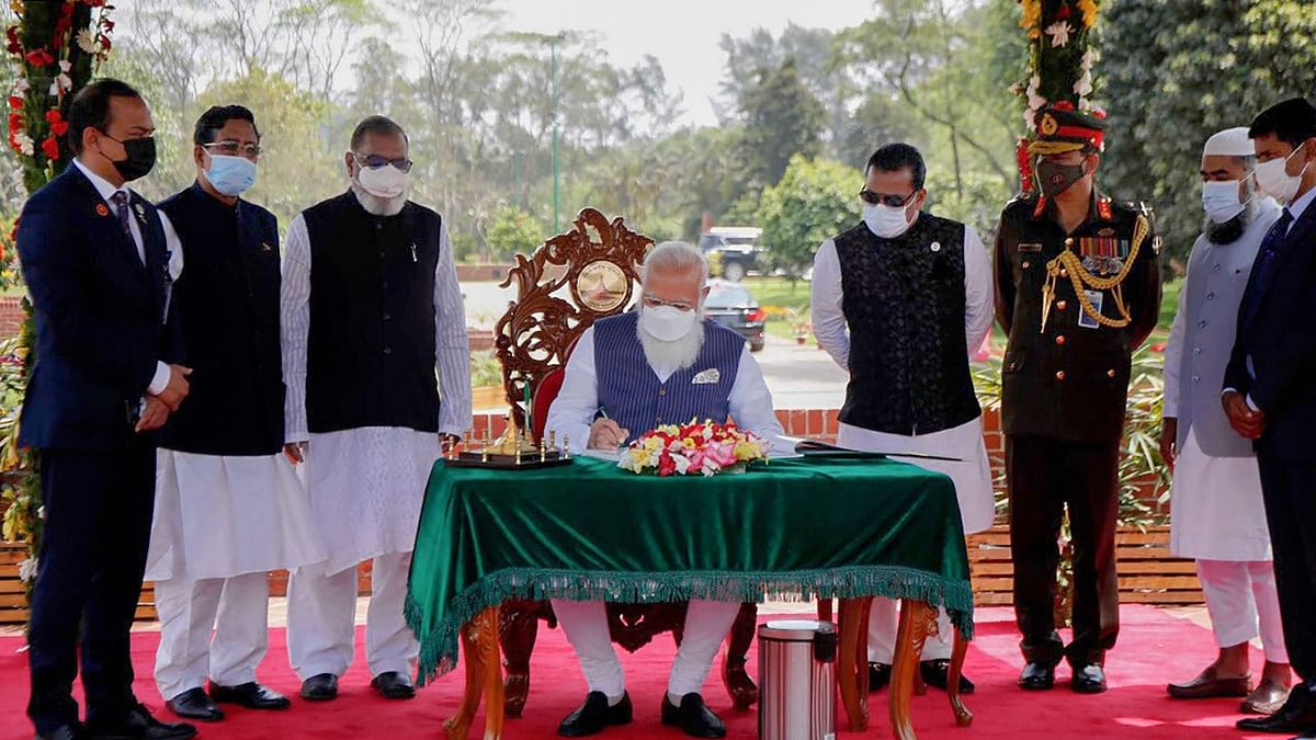 I Protested for Bangladesh's Freedom, Courted Arrest: PM Modi