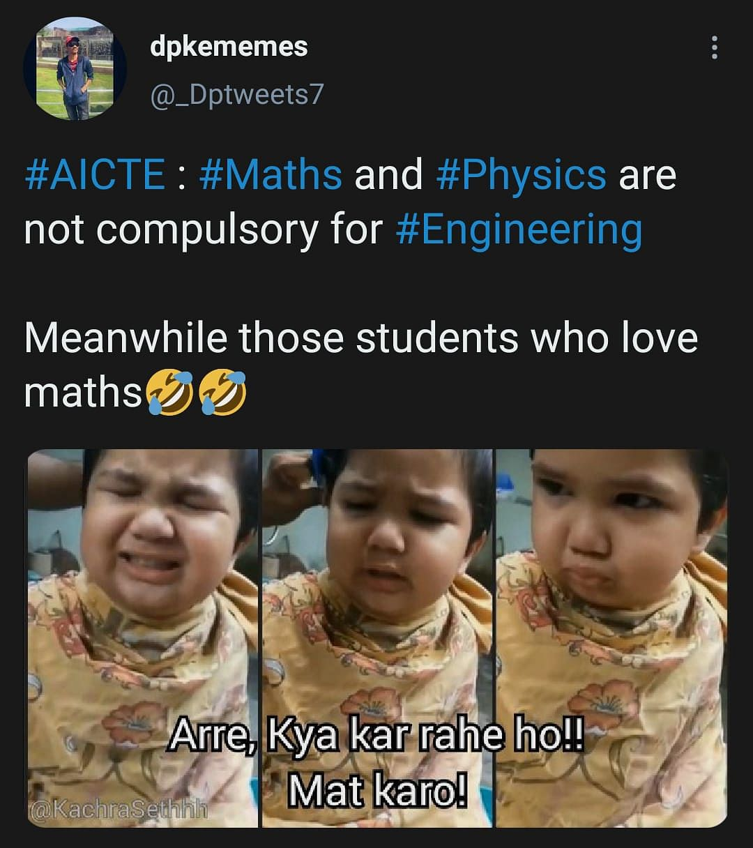 Maths, Physics Not Needed For Engineering Entry; Twitter Reacts