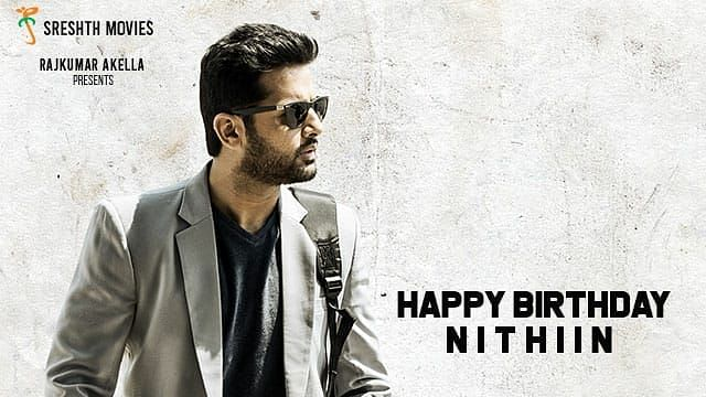 """<div class=""""paragraphs""""><p>Nithiin's look in the'Maestro' poster</p></div>"""