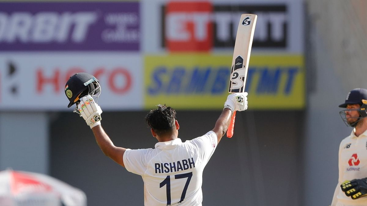 Rishabh Pant Completes Century With a Six, Twitter Celebrates