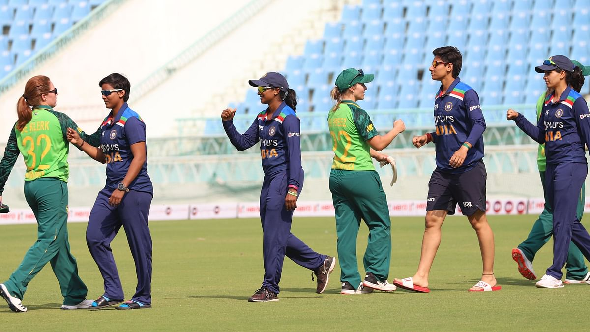 South Africa's women's team won the ODI series 4-1 against India.