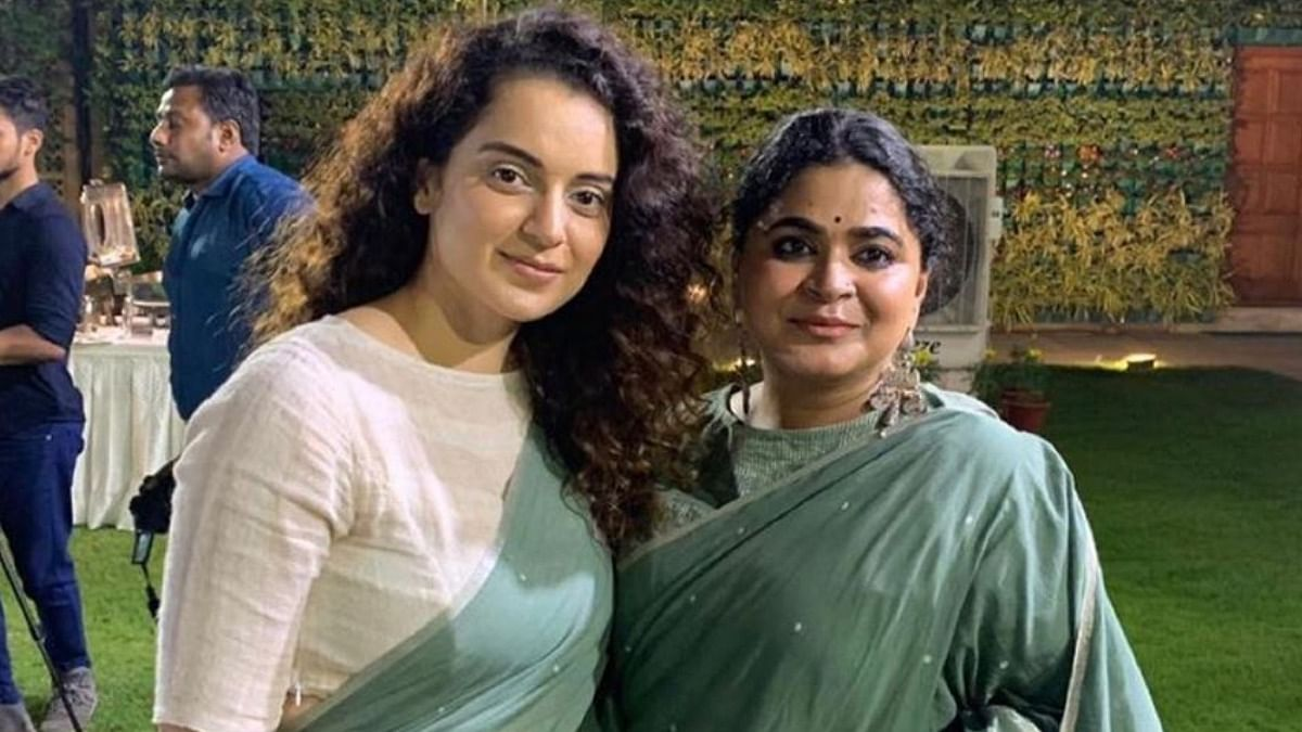 Kangana Ranaut with Ashwiny Iyer Tiwari.