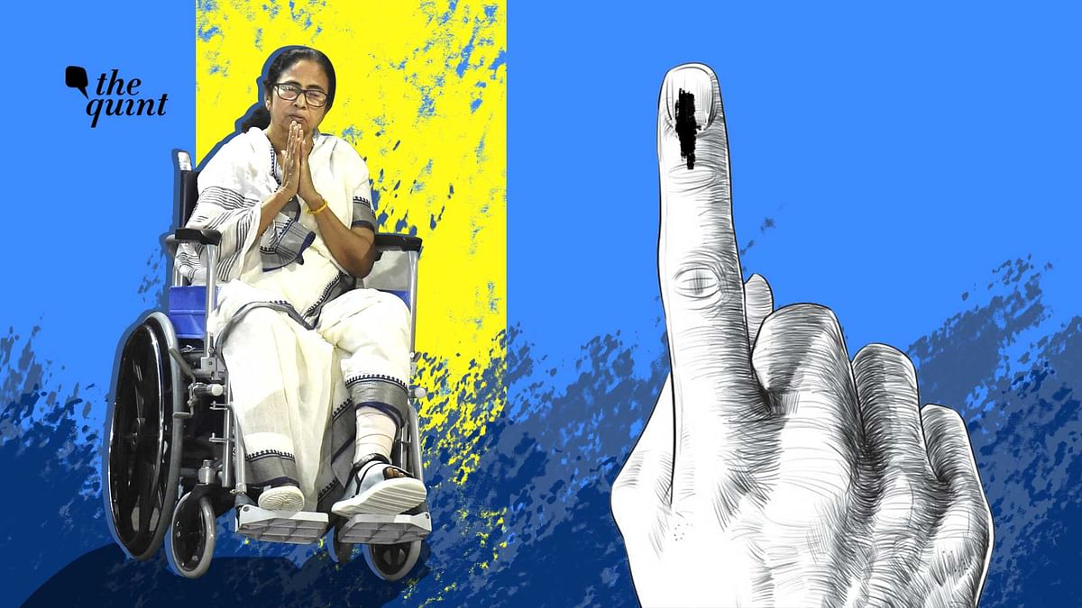 Image of an injured Mamata Banerjee has become the centrepiece of the TMC's Bengal 2021 election campaign this time.