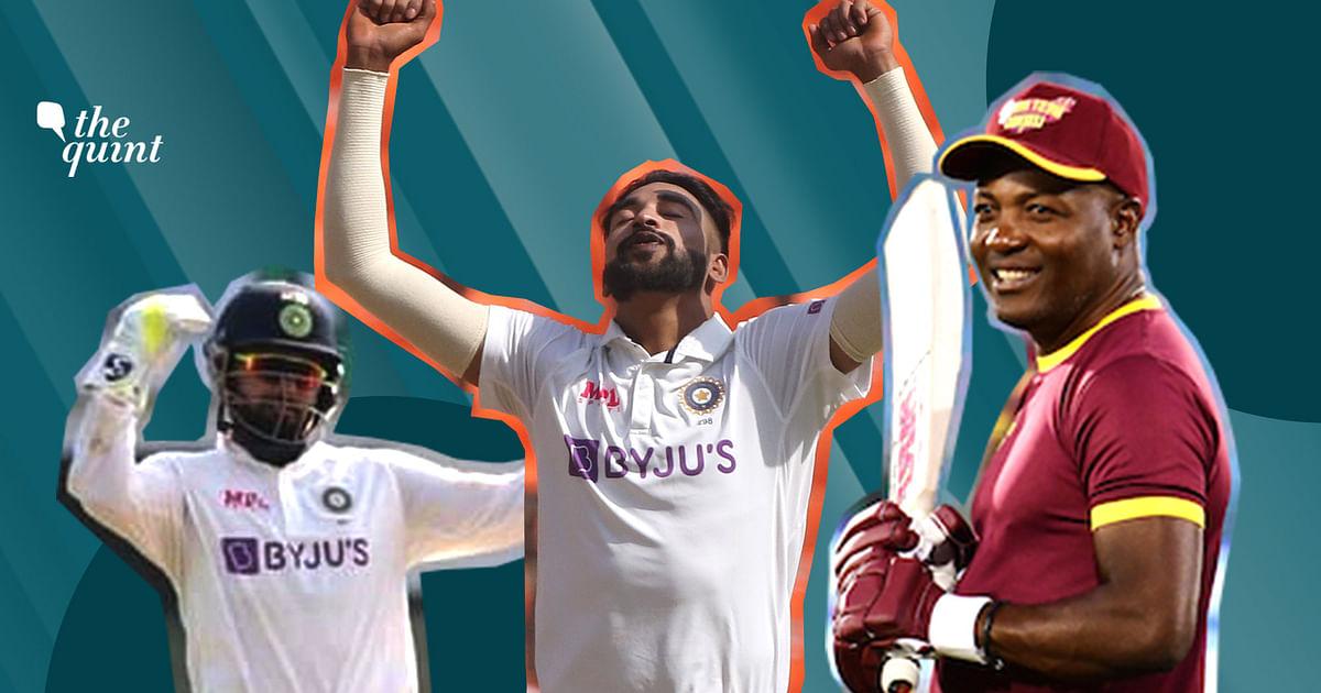 Rishabh Pant's Grown Into a Tremendous Test Cricketer: Brian Lara