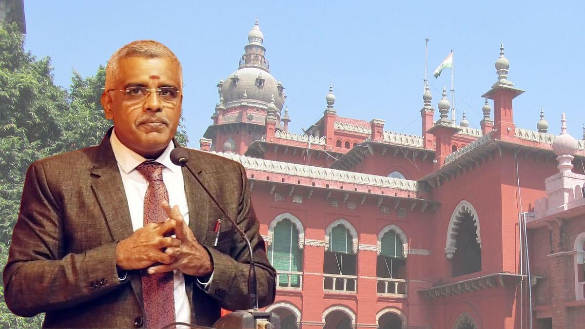 Madras HC Justice N Anand Venkatesh.